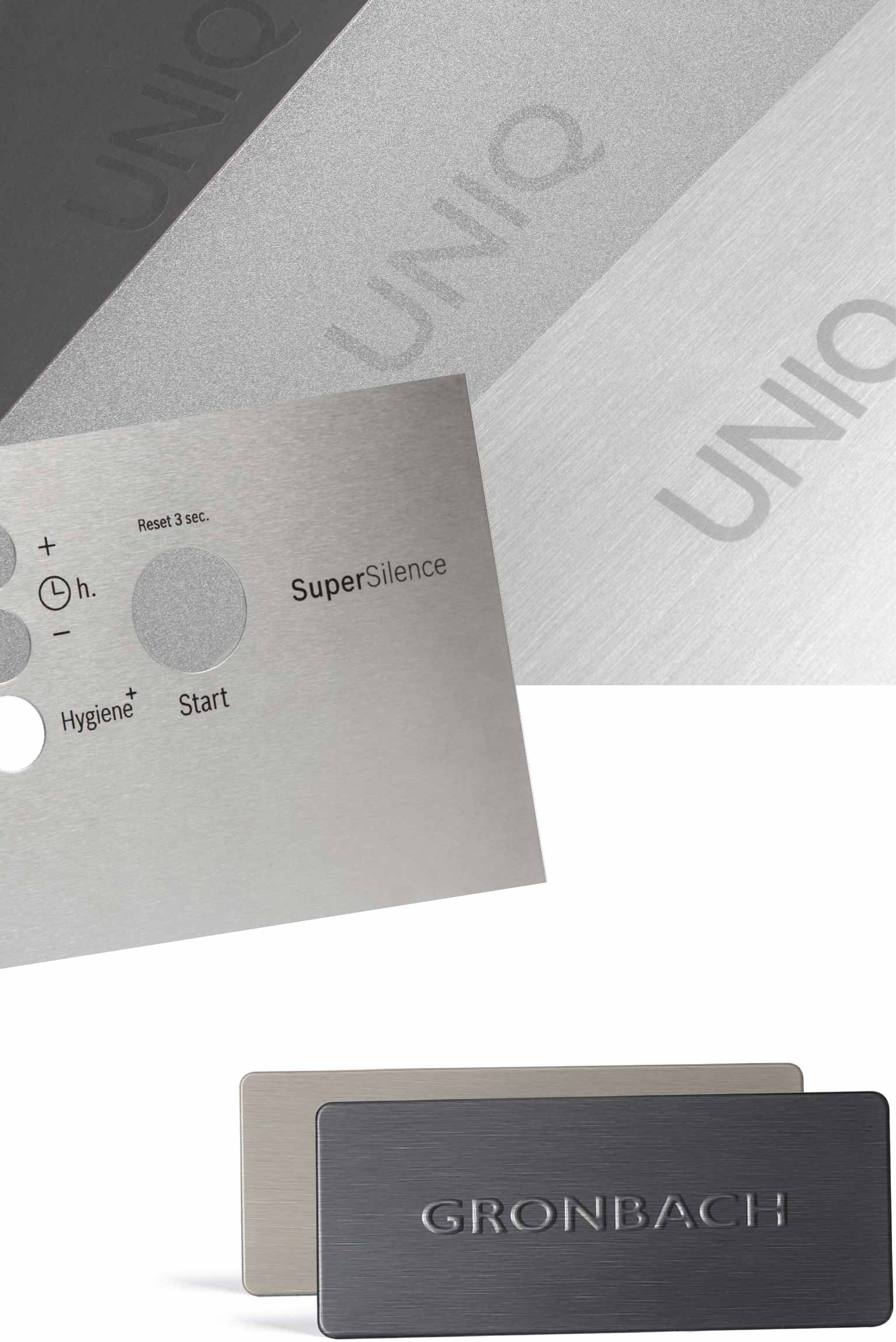 Metal inscriptions and individual laser inscriptions on stainless steel or aluminium